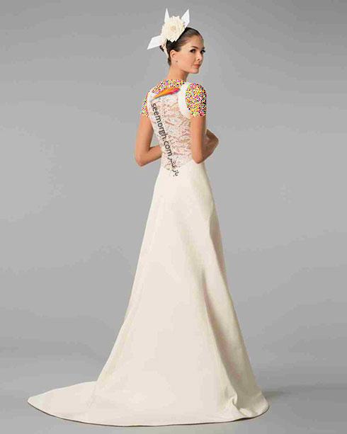مدل لباس عروس به پیشنهاد کارولینا هررا Carolins Herrera - مدل شماره 4