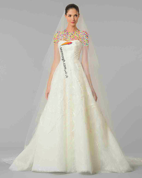 مدل لباس عروس به پیشنهاد کارولینا هررا Carolins Herrera - مدل شماره 5