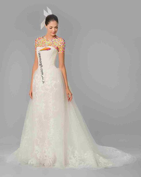 مدل لباس عروس به پیشنهاد کارولینا هررا Carolins Herrera - مدل شماره 6