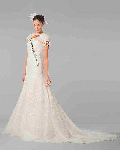 مدل لباس عروس به پیشنهاد کارولینا هررا Carolins Herrera - مدل شماره 7