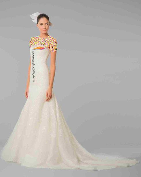 مدل لباس عروس به پیشنهاد کارولینا هررا Carolins Herrera - مدل شماره 8