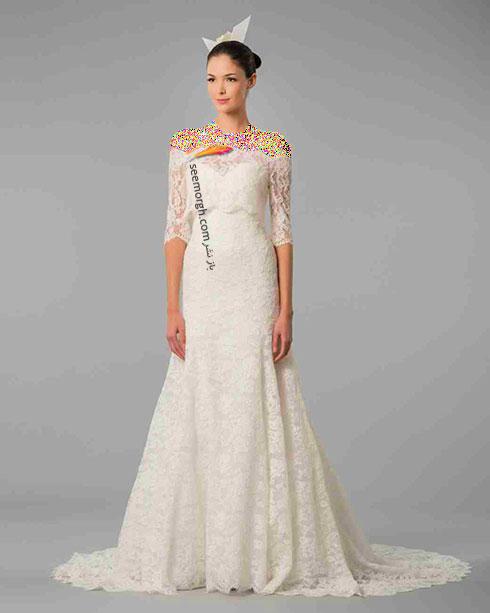 مدل لباس عروس به پیشنهاد کارولینا هررا Carolins Herrera - مدل شماره 9