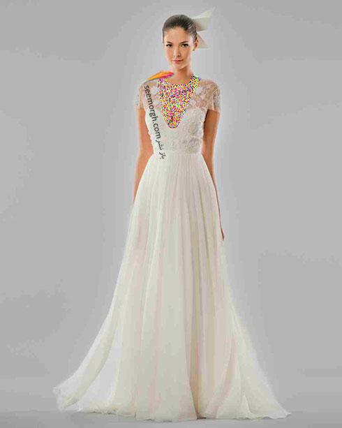 مدل لباس عروس به پیشنهاد کارولینا هررا Carolins Herrera - مدل شماره 10