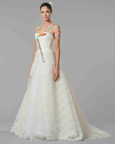 مدل لباس عروس به پیشنهاد کارولینا هررا Carolins Herrera - مدل شماره 11