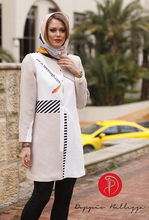 مدل مانتوهای خاص و متفاوت برند ایرانی برای بهار 1395