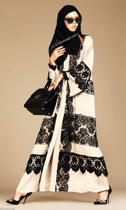 کلکسیون دولچه اند گابانا Dolce&Gabbana برای خانم های محجبه - مدل شماره 1