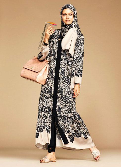 کلکسیون دولچه اند گابانا Dolce&Gabbana برای خانم های محجبه - مدل شماره 2