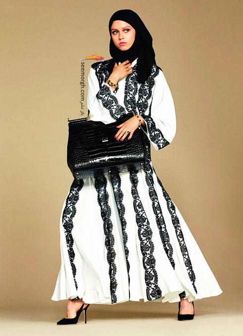 کلکسیون دولچه اند گابانا Dolce&Gabbana برای خانم های محجبه - مدل شماره 3