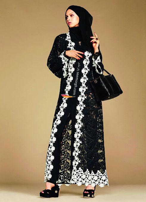 کلکسیون دولچه اند گابانا Dolce&Gabbana برای خانم های محجبه - مدل شماره 4