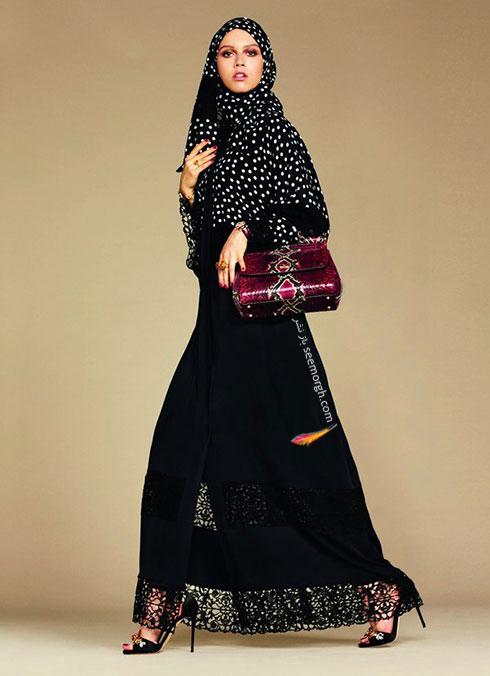 کلکسیون دولچه اند گابانا Dolce&Gabbana برای خانم های محجبه - مدل شماره 5
