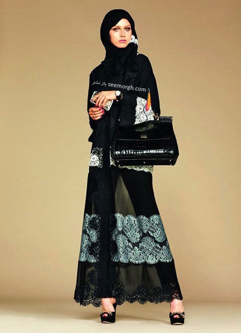 کلکسیون دولچه اند گابانا Dolce&Gabbana برای خانم های محجبه - مدل شماره 6