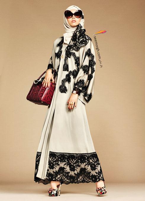 کلکسیون دولچه اند گابانا Dolce&Gabbana برای خانم های محجبه - مدل شماره 7