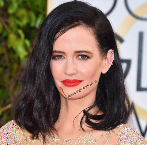 رنگ موی سرمه ای تیره برای بهار 2016 به پیشنهاد اوا گرین Eva Green