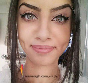 دختری با چشم ها خاص