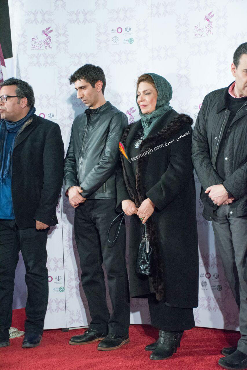 مدل لباس گوهر خیراندیش در دومین روز سی و چهارمین جشنواره فیلم فجر