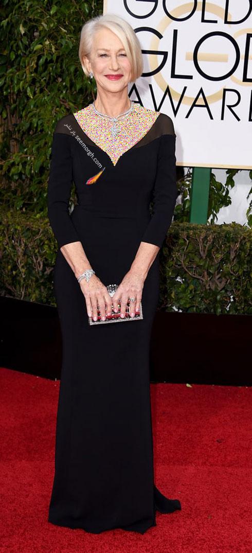 گلدن گلوب 2016 : بهترین مدل لباس ستارگان هالیوودی