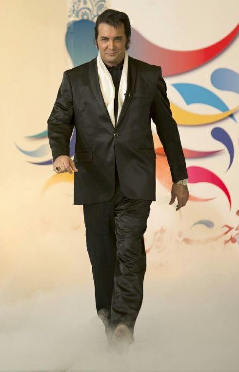 مدل لباس حسام نواب صفوی در جشنواره مد و لباس
