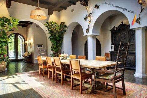 دکوراسیون اتاق ناهارخوری هیلاری داف Hilary Daff