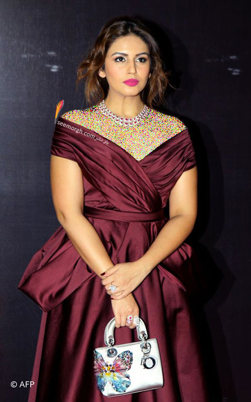 مدل لباس هما قریشی Huma Qureshi روی فرش قرمز بالیوود - مدل شماره 2