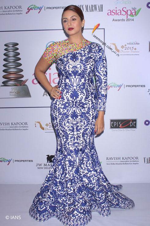 مدل لباس هما قریشی Huma Qureshi روی فرش قرمز بالیوود - مدل شماره 5
