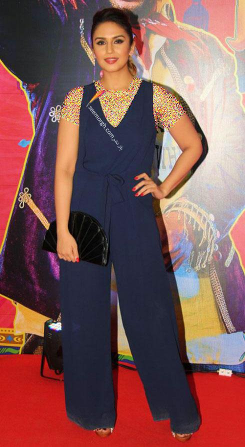 مدل لباس هما قریشی Huma Qureshi روی فرش قرمز بالیوود - مدل شماره 7