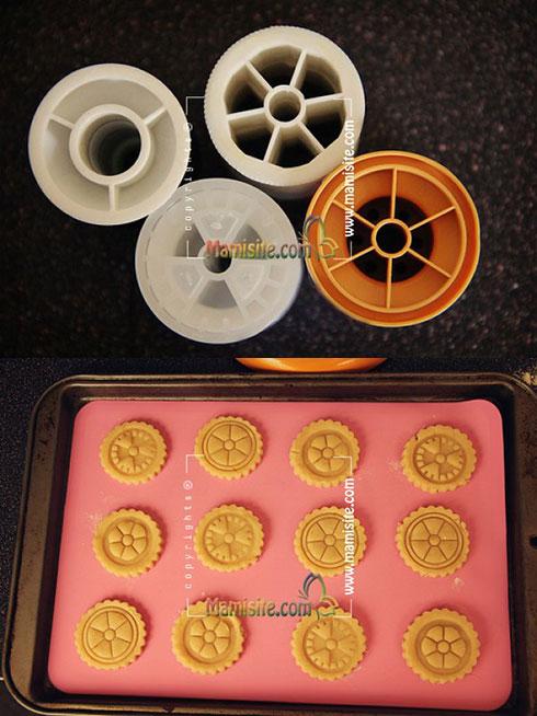 طرح دادن به شیرینی نوروزی مرکبات