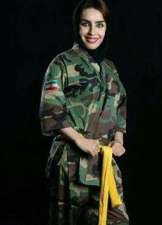 دختر کشتی گیر ایرانی که می خواهد مثل تختی باشد! + عکس