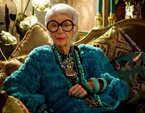 آیریس آپفل Iris Apfel، مادر بزرگ دنیای مد - عکس شماره 2