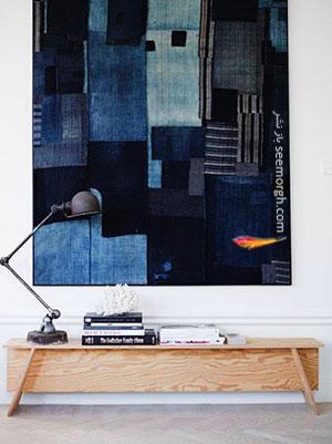 یک اثر هنری برای تزیین دیوار اتاق تان درست کنید