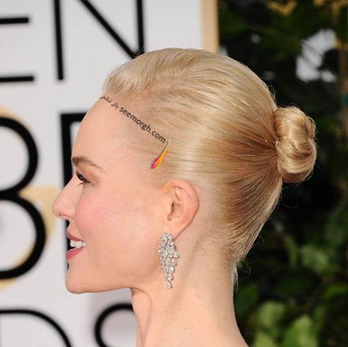 مدل موی کیت باسورث Kate Bosworth در گلدن گلوب 2016