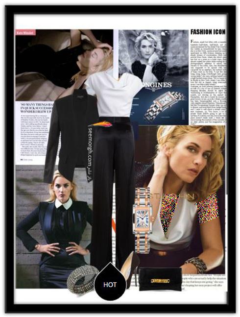 ست کردن کت و شلوار به پیشنهاد کیت وینسلت Kate winslet برای بهار 2016 - ست شماره 6