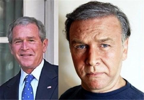 کیهان ملکی در نقش جرج بوش