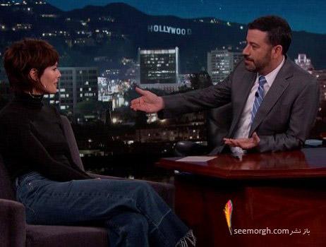لینا هیدی در یک مصاحبه تلویزیونی