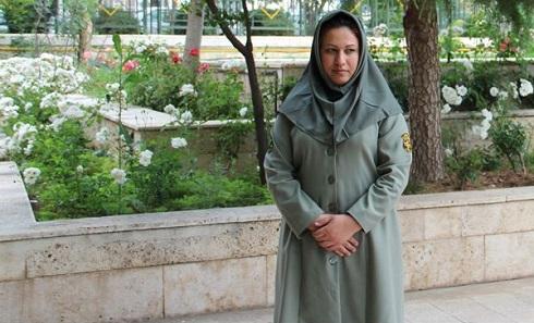این خانم تنها نگاهبان مسلح محیط زیست ایران است+ عکس