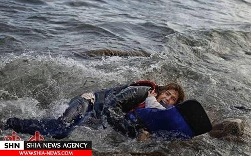 مادر سوری نگذاشت مدیترانه فرزندش را غرق کند+ عکس