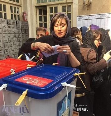 مهتاب کرامتی و حضور در انتخابات