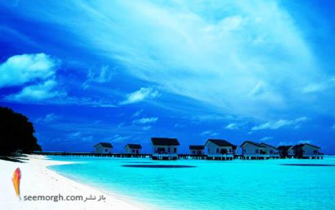 توریستهای زیادی بخاطر سواحل زیبا به مالدیو سفر می کنند
