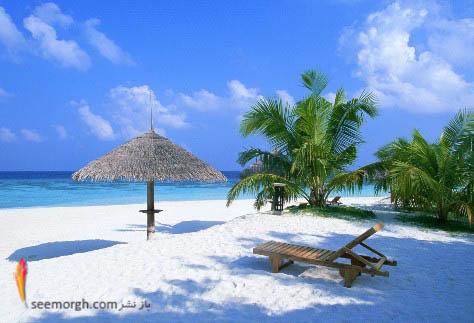 ساحل چشم نواز در مالدیو