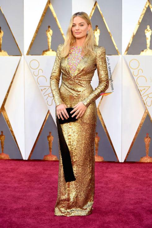 مدل لباس مارگوت رابی Margot Robbie در اسکار 2016