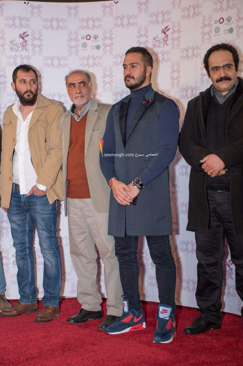 مدل لباس میلاد کی مرام در دومین روز سی و چهارمین جشنواره فیلم فجر