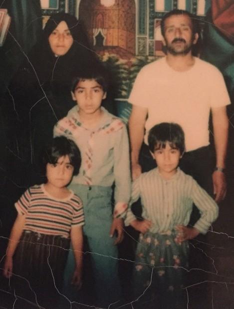 عکس محسن تنابنده در کودکی
