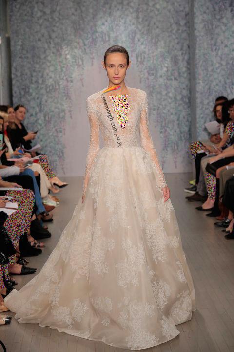 لباس عروس بلند در هفته مد لندن - مدل شماره 5