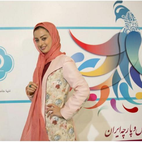 مدل لباس نفیسه روشن صفوی در جشنواره مد و لباس