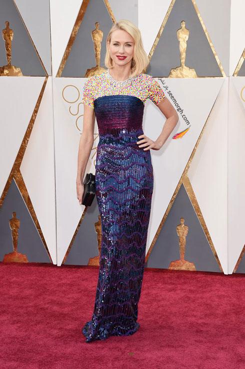 مدل لباس نائومی واتس Naomi Watts در اسکار 2016