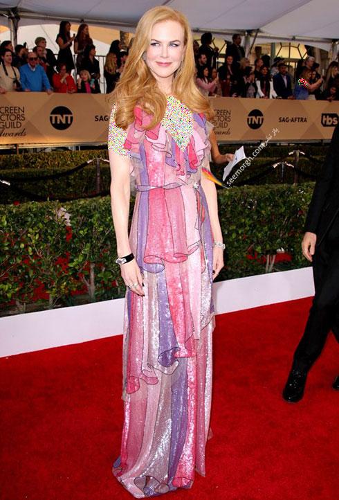 مدل لباس Nicole Kidman نیکول کیدمن در مراسم SAG Awards 2016