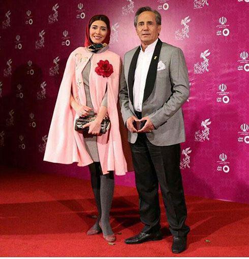 مدل لباس نیکی مظفری و مجید مظفری در سی و چهارمین جشنواره فیلم فجر