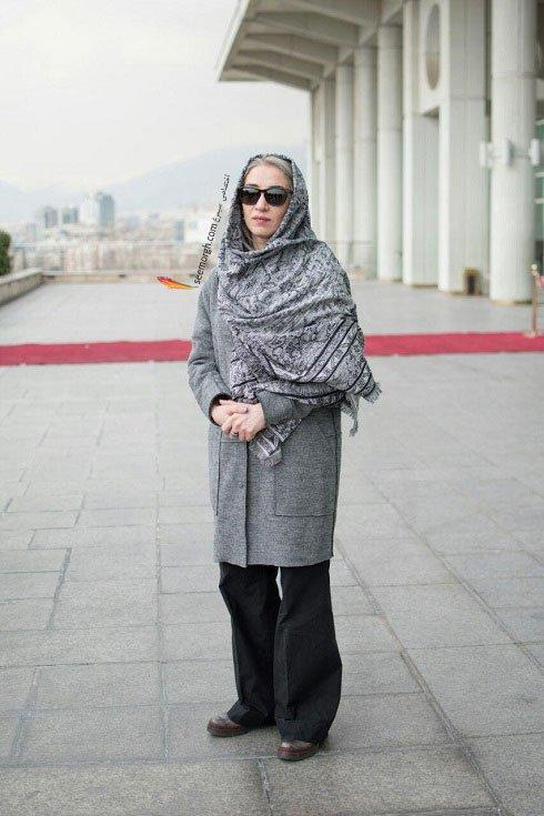 مدل لباس پانته آ پناهی ها در نهمین روز سی و چهارمین جشنواره فیلم فجر