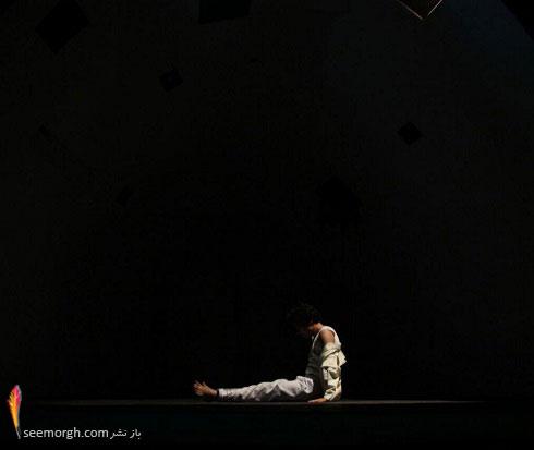 اجرای نمایش کا با یک بازیگر در تئاتر شهر! +عکس