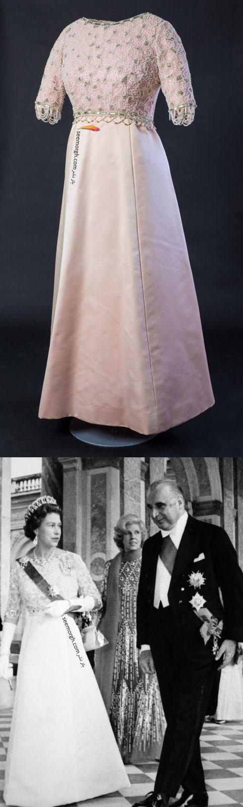 پیراهن ملکه الیزابت از کمپانی هاردی آمیس Hardy Amies