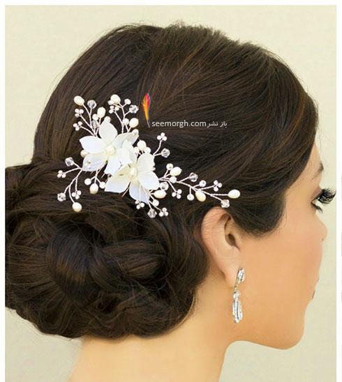 مدل مو عروس به سبک عروس های اروپایی - مدل مو عروس شماره 1
